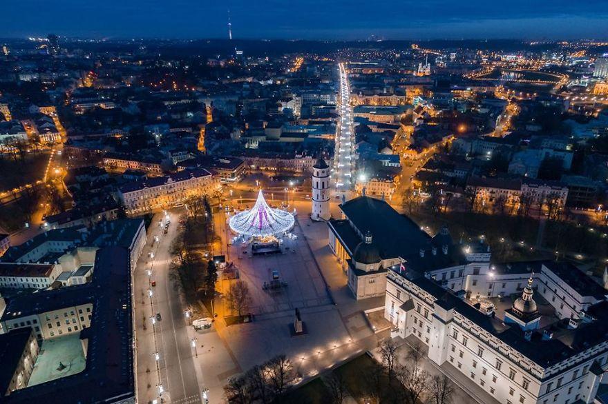 Шматочок свята у серці столиці Литви / Saulius Žiūra