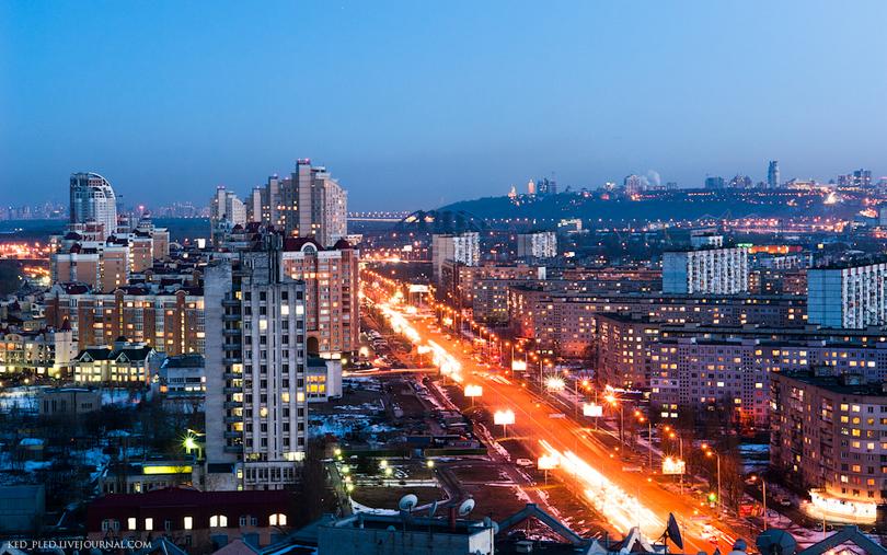Киевляне требуют переименовать проспект Героев Сталинграда. Фото: ked-pled.livejournal.com