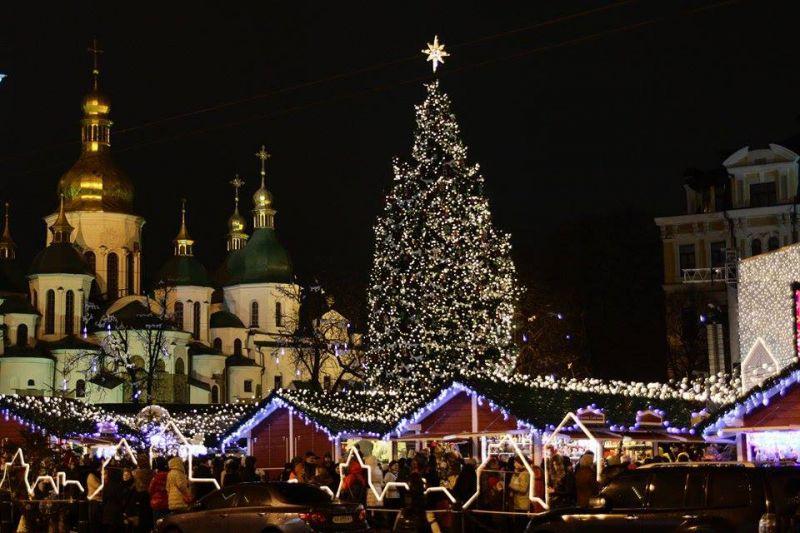 київ новий рік софіївська площа