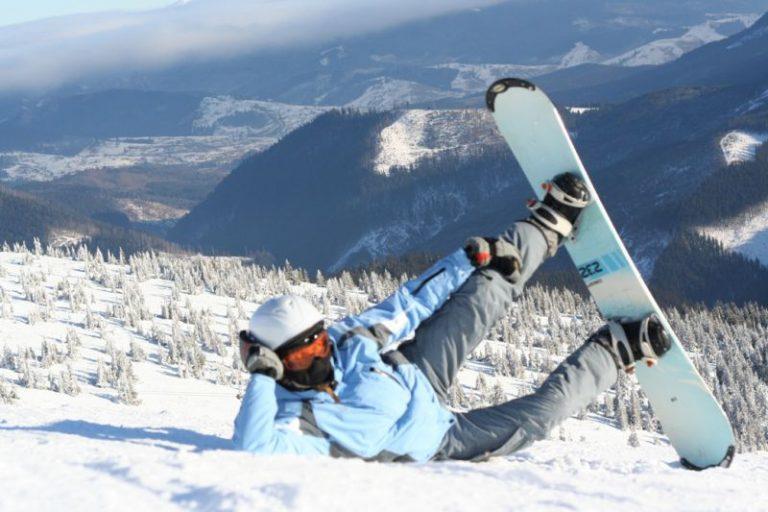лижі гори сноуборд
