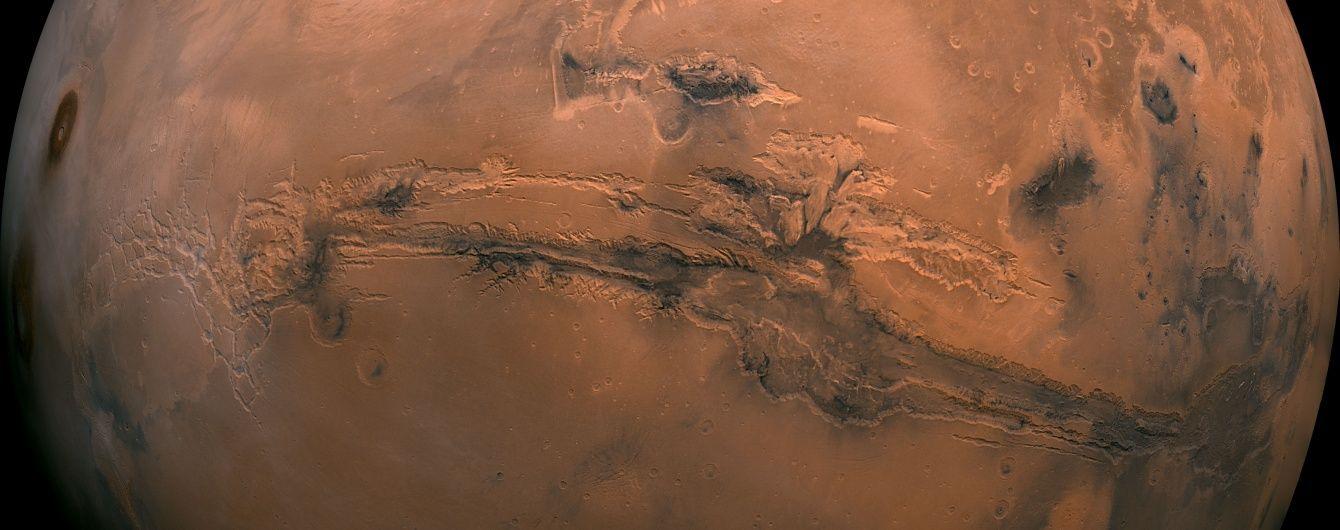 вода на марсі