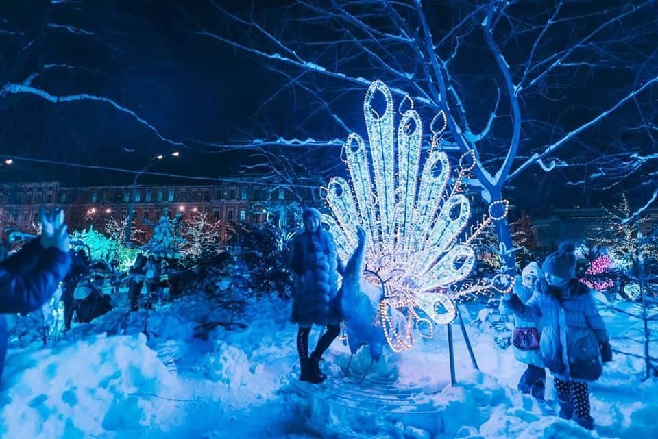У Києві відкрився перший в Україні фестиваль ілюмінацій (фото)