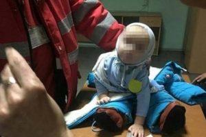 Під Києвом горе-матір побила дев'ятимісячне немовля