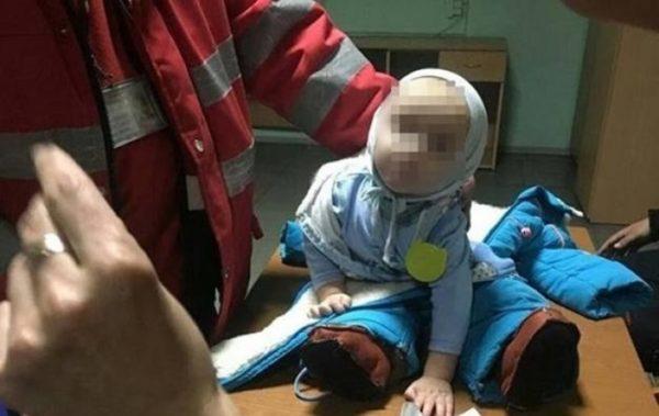 київ матір побила 9 місячне немовля