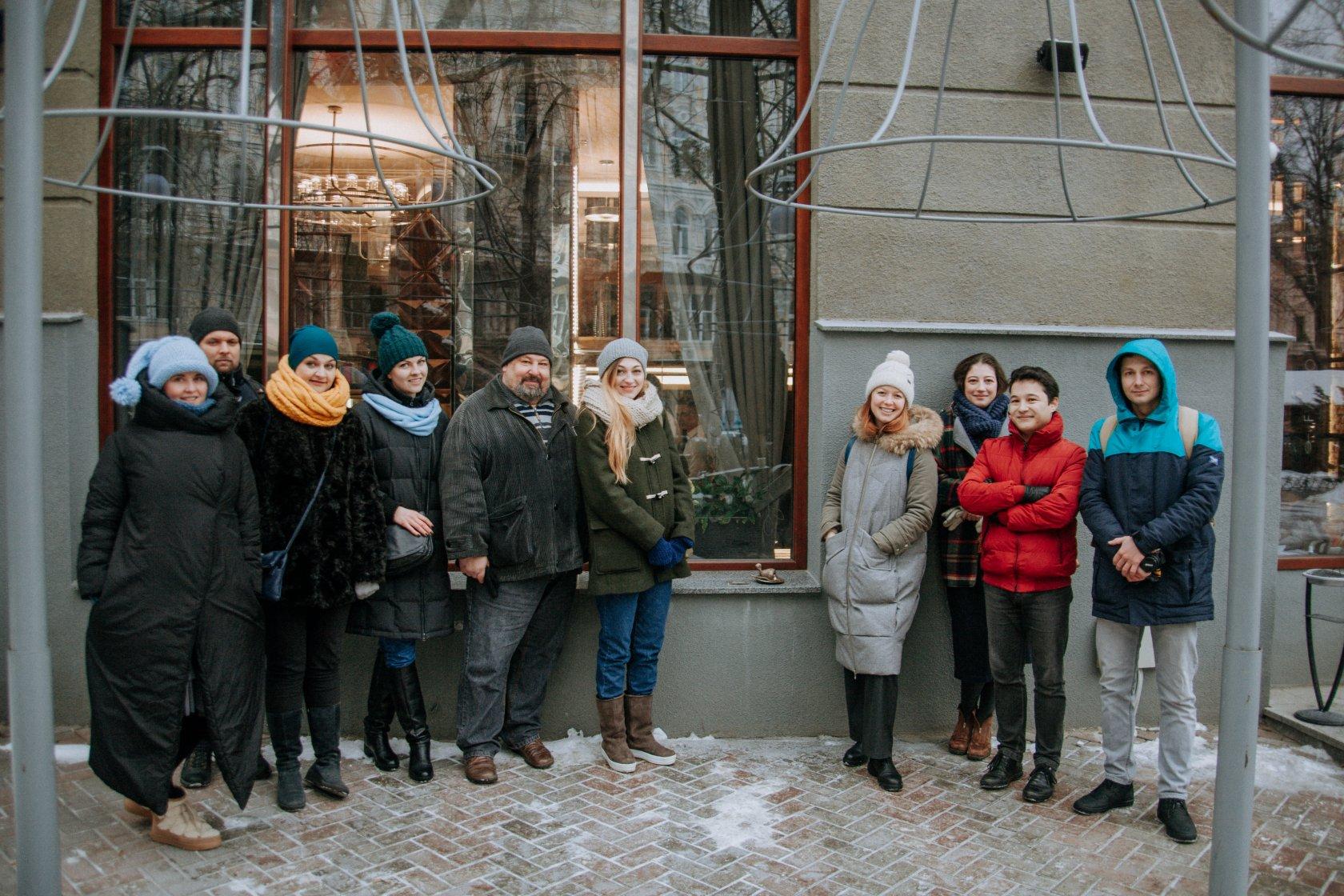У Києві увіковічнили котлету по-київськи (фото)
