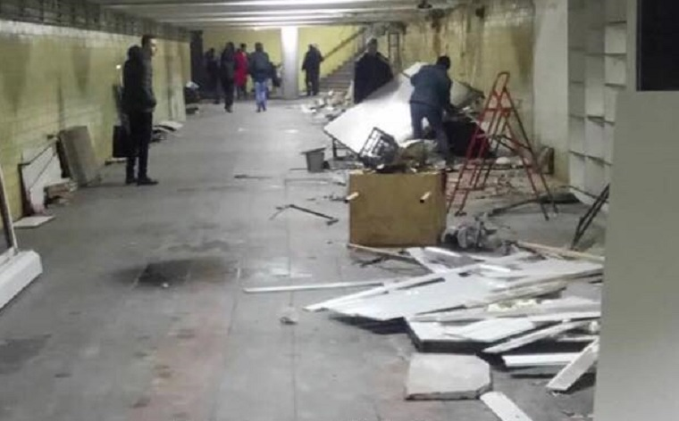 Станцію «Нивки» звільнили від МАФів (фото)