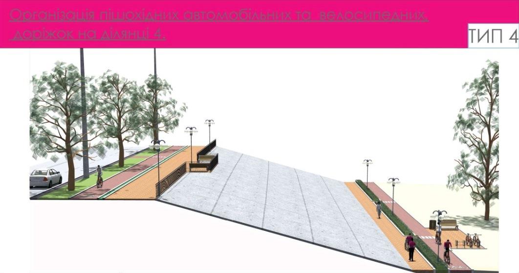 Як буде виглядати Оболонська набережна після реконструкції (фото)