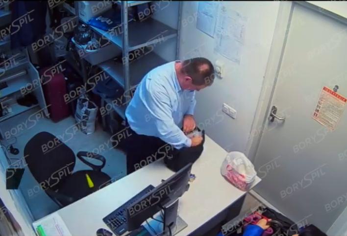 """Камери показали, що роблять із багажем у """"Борисполі"""""""
