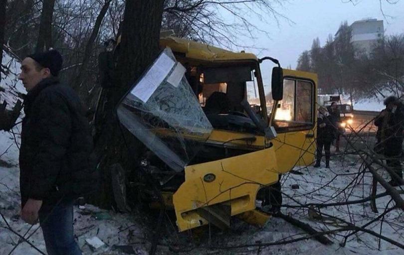 В аварії двох столичних маршруток постраждало 15 осіб (dtp.kiev.ua)