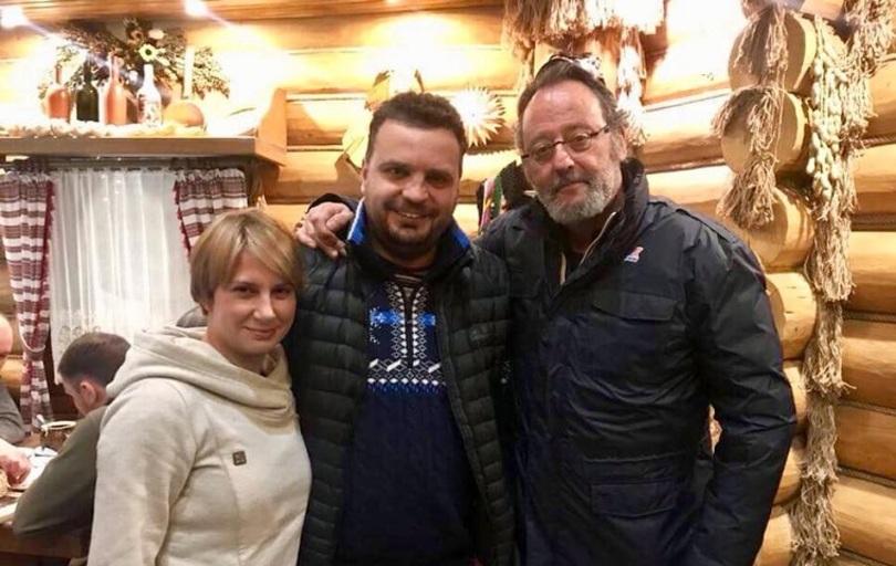 Жан Рено приїхав в Україну для зйомок у фільмі
