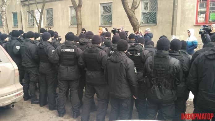 У Києві пройшла мовчазна акція поліцейських (фото)