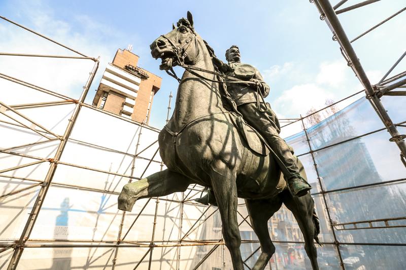 памятник Щорсу киев