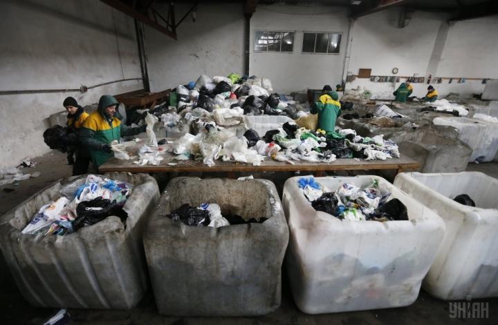 сортування сміття осбб