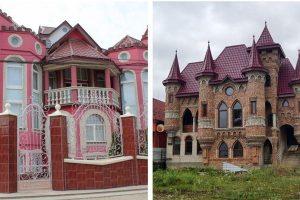 20 фото та відео найбагатшого села України: казкові палаци та розкішні вілли