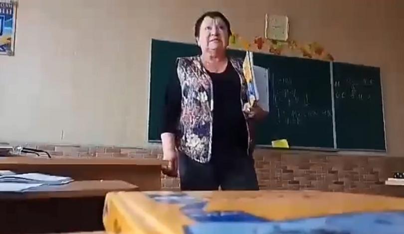 «Ти тварь!»: На Київщині вчителька ображала учня під час уроку (відео)
