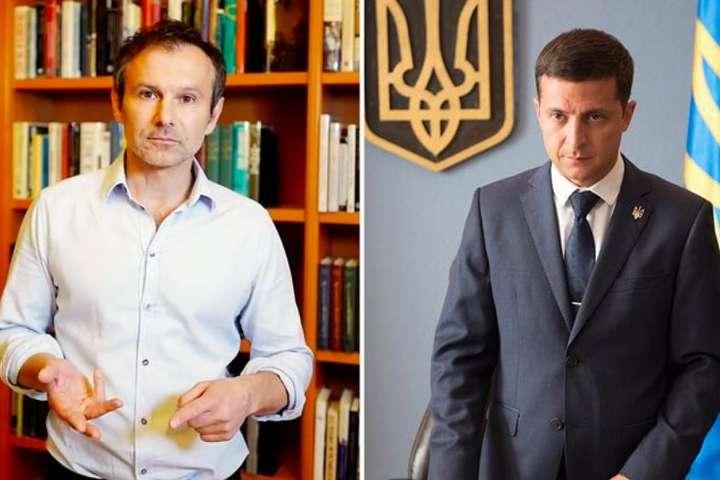 Українці найбільше довіряють Вакарчуку і Зеленському