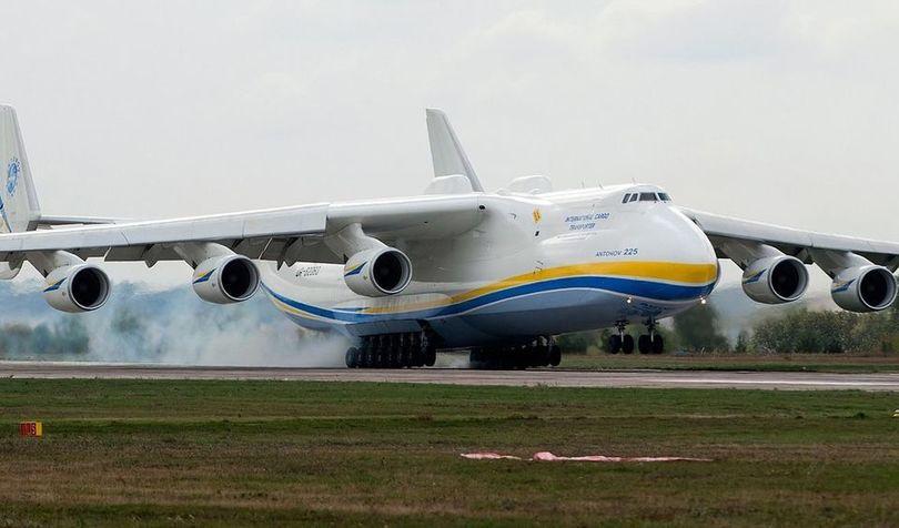 Найбільший літак у світі – український Ан-225 «Мрія»