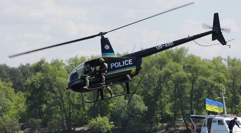 В Україні з'являться поліцейські на вертольотах
