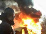 Радикальна молодь спалила табір ромів на Лисій горі (фото)