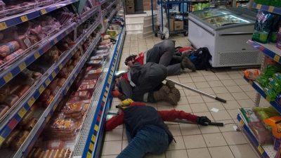 У київському супермаркеті ловили хвостатого злодюжку (фото)