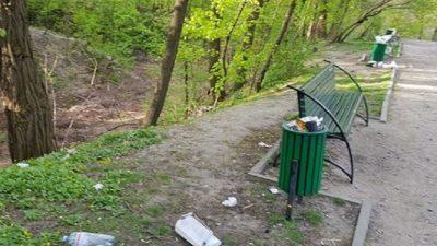 Столичний Ботанічний сад потопає в смітті (фото)