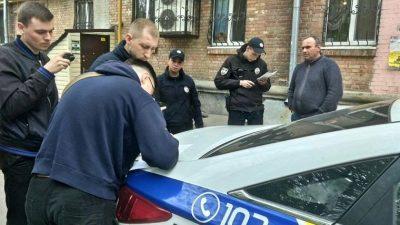 Націоналісти провели облаву на водіїв «Яндекс.Таксі»