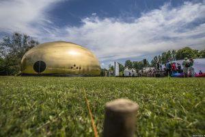 У ботанічному саду з'явився гігантський «золотий батон» (фото)