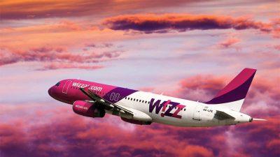 Wizz Air почне польоти з Києва до трьох європейських столиць