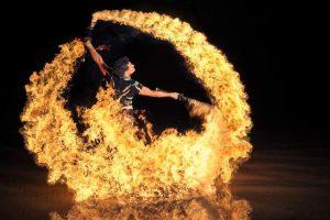 У київському парку влаштують вогняне шоу
