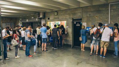 За день до подорожчання проїзду метро заробило близько 1 млн доларів