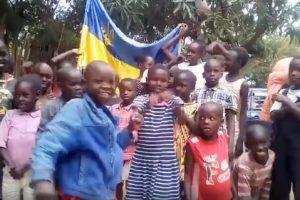 Слава Україні! Діти з Кенії вітають Україну з днем незалежності! Відео