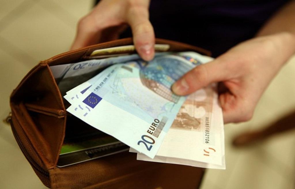 євро гроші гаманець
