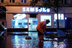 Київ пішов під воду: столицю сколихнула стихія. Наслідки (фото)