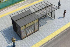 У Києві замінять всі зупинки транспорту (фото)