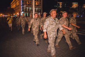 На Хрещатику пройшла репетиція параду до Дня Незалежності (фото)