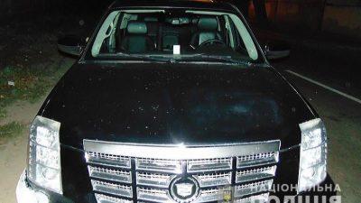 Працівник столичного СТО викрав Cadillac, щоб покататися (фото)