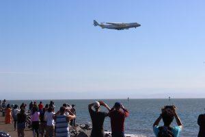 Український літак-гігант «Мрія» здійснив невпинний переліт в США (фото, відео)