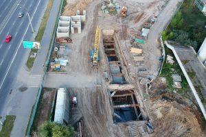 У Києві почали будувати метро на Теремки-2