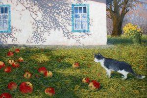 Сучасний український живопис. Фантастичні картини художниці з Луцька Ольги Кваші