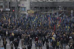 У Києві 8 тисяч осіб виконали гімн УПА і встановили рекорд (відео)