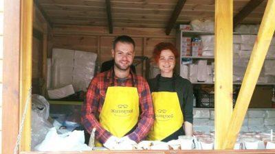 На Дорогожичах відкрився пункт безкоштовного харчування для людей похилого віку