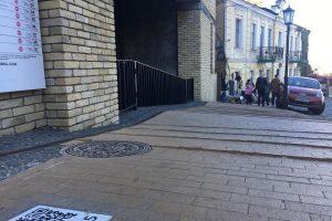 На Подолі з'явилася бруківка з котами-екскурсоводами (фото)