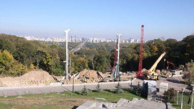 Поблизу парку Вічної Слави будують підземний музей