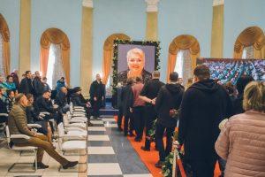 У Жовтневому палаці попрощалися з Мариною Поплавською (фото, відео)
