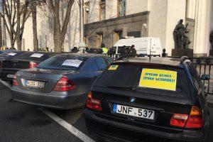 Власники авто на єврономерах перекрили центр Києва (фото, відео)