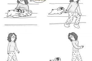10 зворушливих коміксів про життя з собакою