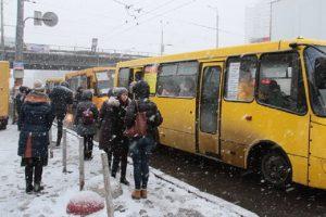 У Києві водій маршрутки сходив в туалет в салоні (фото)
