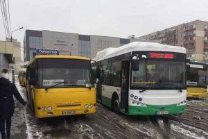 На маршрут в столиці вийшов перший електробус (фото)