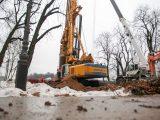 У центрі Києва почалося будівництво туристичного моста