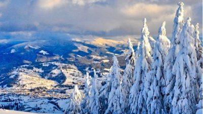 Зимова казка в Карпатах.Фото